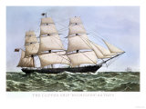"The Clipper Ship ""Highflyer,"" 1111 Tons Giclee Print"