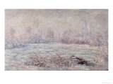 Frost Near Vetheuil, 1880 Giclee Print by Claude Monet