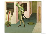 The Beheading of St. John the Baptist Giclee Print by  Sano di Pietro