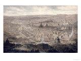 View of Vienna, circa 1860 Giclée-Druck von G. Veitto