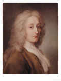 Portrait of Antoine Watteau (1684-1721) Giclee Print by Rosalba Carriera