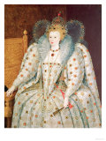 Queen Elizabeth I of England and Ireland (1533-1603) Giclee Print