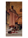 Execution Without Trial under the Moorish Kings in Granada, 1870 (Oil on Canvas) Giclee Print by Henri Alexandre Georges Regnault