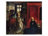 The Annunciation Giclée-tryk af Rogier van der Weyden