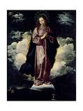 The Immaculate Conception, C.1618 Giclée-Druck von Diego Rodriguez de Silva y Velazquez