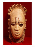 Belt Mask, Benin, 16th Century (Ivory) Giclée-Druck