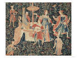 The Concert at the Fountain, Loire Workshop, circa 1570-80 Giclee Print