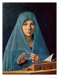 The Annunciation, 1474-75 Premium Giclee Print by  Antonello da Messina