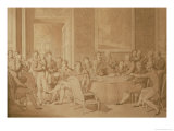 The Congress of Vienna, 1815 Giclee Print by Jean-Baptiste Isabey
