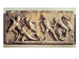 The Battle of the Greeks and the Amazons, from the Mausoleum of Halicarnassus, circa 350 BC Giclee Print