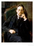Portrait of Anton Pavlovich Chekhov, 1898 Giclee Print by Osip Emmanuilovich Braz