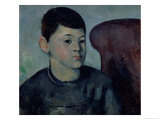 Portrait of Paul Cezanne, the Artist's Son, 1883-85 Giclee Print by Paul Cézanne