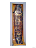 Painted and Gilded Mummy Case of Artemidorus with Encaustic Portrait in the Hellenistic Style Giclee Print