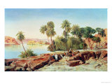 Philae on the Nile Giclee Print by Edward Lear