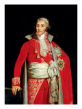 Portrait of Joseph Fouche (1759-1820) Duke of Otranto Giclee Print by Louis Edouard Dubufe
