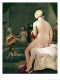 The Little Bather in the Harem, 1828 Giclee Print by Jean-Auguste-Dominique Ingres