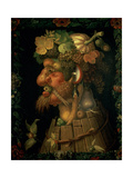 Autumn, from a Series Depicting the Four Seasons, Commissioned by Emperor Maximilian II Impression giclée par Giuseppe Arcimboldo