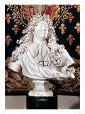 Bust of Louis XIV (1638-1715) 1686 Giclee Print by Antoine Coysevox