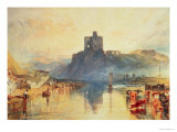Norham Castle, 1824 Giclee Print by William Turner