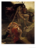 The Flood, 1806 Gicle-tryk af Anne-Louis Girodet de Roussy-Trioson