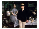 Luncheon in the Studio, 1868 Giclee Print by Édouard Manet