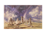 Stonehenge, 1835 Giclee Print by John Constable