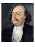 Portrait of Gustave Flaubert (1821-80) 1868-81, Giclee Print