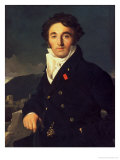 Portrait of Charles Cordier (1777-1870) 1811 Giclee Print by Jean-Auguste-Dominique Ingres