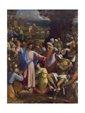 The Raising of Lazarus, c.1517-19 Giclée-tryk af Sebastiano del Piombo