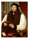 Portrait of Thomas Cranmer (1489-1556) 1546 Giclee Print by Gerlach Flicke