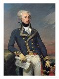 Portrait of Gilbert Motier (1757-1834) the Marquis De La Fayette as a Lieutenant General, 1791 Giclee Print by Joseph Desire Court
