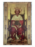 Portrait of Richard II (1367-1400) Giclee Print