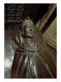 Effigy of Henry V (1387-1422) (Oak and Polyester Resin) Giclee Print