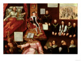 An Allegory of the Reformation, circa 1568-1571 Giclee Print