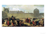 The Announcement of the Signing of the Treaty of Paris in 1783, 1837 Giclee Print by Anton van Ysendyck