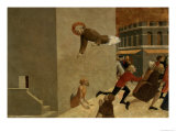 The Blessed Ranieri Rasini Delivering the Poor from the Prison in Florence Giclee Print by  Sassetta