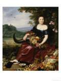 Allegory of Earth Giclée-Druck von Cornelis de Vos