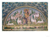 The Good Shepherd, Lunette from Above the Entrance Giclee Print