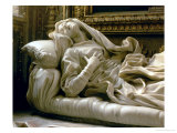 Death of the Blessed Ludovica Albertoni, from the Altieri Chapel, 1674 Giclee Print by Giovanni Lorenzo Bernini