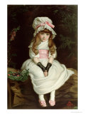 Cherry Ripe Giclee Print by John Everett Millais