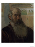 Self Portrait, 1873 Giclee Print by Camille Pissarro