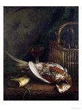 Still Life with a Pheasant, circa 1861 Giclee Print by Claude Monet