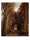 The Cenotaph to Reynold's Memory, Coleorton, circa 1833 Giclee Print by John Constable