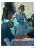 Dancer in Her Dressing Room Giclee Print by Edgar Degas