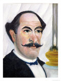Self Portrait, circa 1900-03 Giclee Print by Henri Rousseau