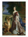 The Duchess of Maine (1676-1753) Giclee Print by Francois de Troy