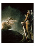 Macbeth and the Witches Giclee Print by Henry Fuseli