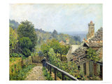 Louveciennes Or, the Heights at Marly, 1873 Reproduction procédé giclée par Alfred Sisley