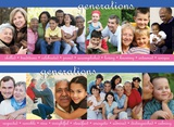 Generations, 2 part laminated poster set Plakater
