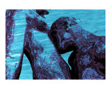The Kiss 4 - Homage to Auguste Rodin Giclee Print by Ina Mar